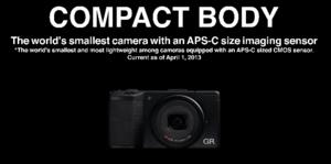 Ricoh szykuje nowy kompakt GR z matrycą APS-C