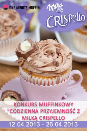 Lubisz muffinki? Weź udział w konkursie z Milka Crispello