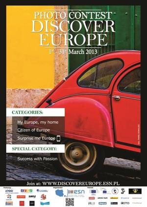 Wyniki konkursu Discover Europe 2013 już w maju