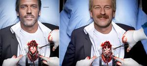 Prezydent Poznania na zdjęciu jak Dr House. Wpadka agencji?
