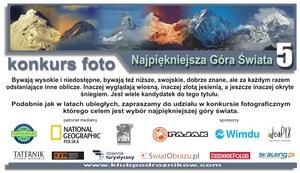 """Konkurs fotograficzny """"Najpiękniejsza góra świata"""""""