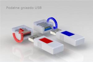 Problem odwrotnego wkładania nośników USB rozwiązany przez krakowskiego studenta