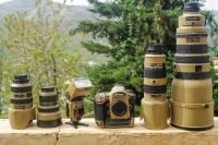 Nikon i profesjonalny kamuflaż, czyli nie tylko czerń jest piękna