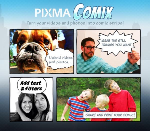 Canon PIXMA Comix Facebook
