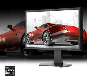 NEC MultiSync P242W - nowy monitor do zastosowań profesjonalnych