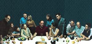 James Gandolfini  na zdjęciach Annie Leibovitz