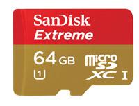 Najszybsze karty microSDXC od SanDiska