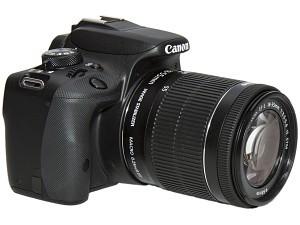 Canon EOS 100D – test lustrzanki