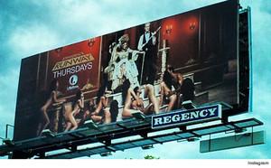 Zdjęcie wykorzystane do reklamy Project Runway zbyt pikantne dla Los Angeles