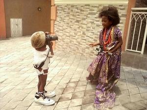3-letni fotograf z Afryki