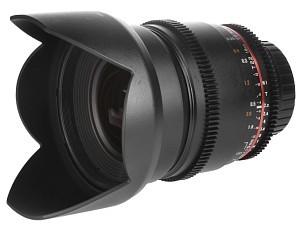 Obiektyw Samyang 16 mm w wersji filmowej