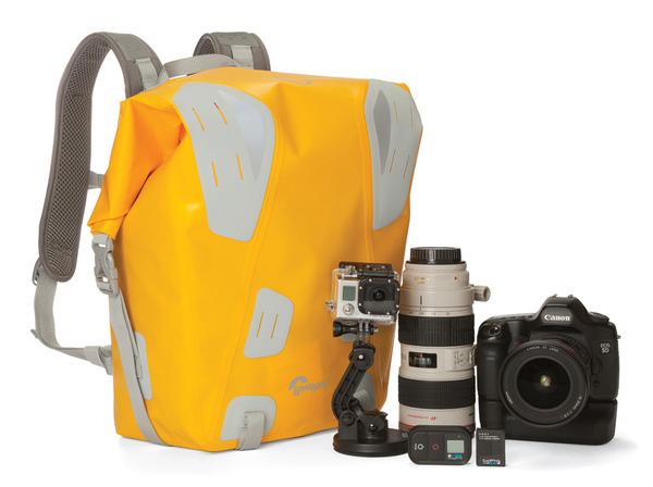 cc9e131057374 Plecak DryZone DF 20L pomieści Pro DSLR z dołączonym obiektywem (do  70-200mm); 1 do 2 dodatkowych obiektywów; lampę i akcesoria; stosunek  pojemności: 80% ...