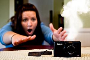 Efekty specjalne na zdjęciach - dym