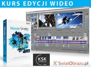 Kurs edycji wideo z Sony Creative Software: Sztuka nożyczek i kleju - po co i czym montować? cz. I