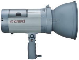 Plenerowa lampa Powerlux - Visico 4  z wbudowaną baterią