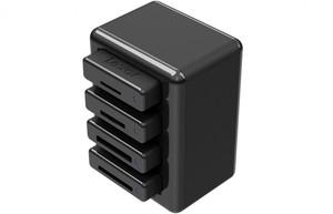 Importowanie z czterech kart pamięci w tym samym czasie -  Lexar Professional Workflow HR1