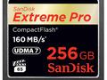 Karta SanDisk Extreme Pro CompactFlash o pojemności 256 GB