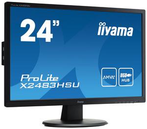 Monitor iiyama ProLite X2483HSU z matrycą AMVA+ oraz 24-bitową technologią True Colour