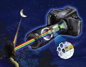Jak wykonać wspaniałe nocne zdjęcie za pomocą lustrzanki cyfrowej  z modułem noktowizyjnym