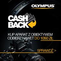 Olympus CASH BACK nawet do 1050 zł