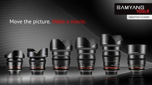 Obiektywy filmowe Samyang serii V-DSLR mocowaniem Pentax K