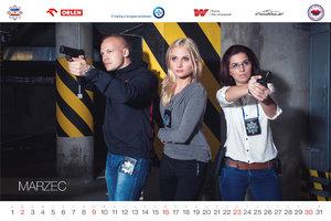Piotr Jakubowski sfotografował policjantów z całej Polski