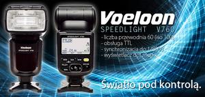 Lampa błyskowa Voeloon V760 w wersji dla aparatów Nikon