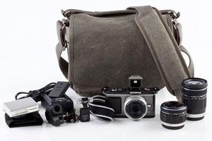 Wymień  starą torbę fotograficzną na nową