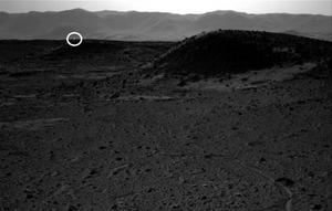 Światło na Marsie - niewiarygodna fotografia wykonana przez łazik Curiosity