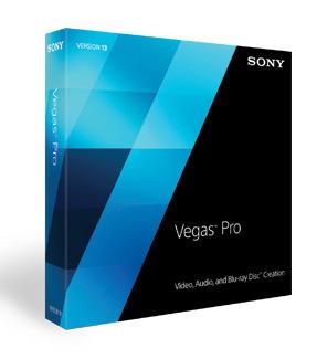 Vegas Pro 13 - edycja materiału wideo, audio i Blu-ray - wyjątkowa cena w SwiatObrazu.pl