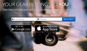 Lenstag - pomaga odnaleźć skradziony sprzęt fotograficzny oraz bezprawnie wykorzystywane zdjęcia