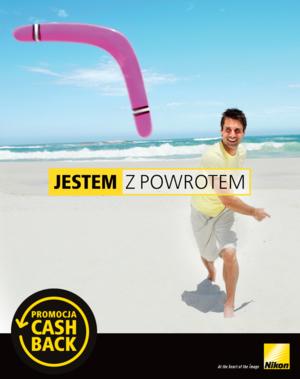 JESTEM Z POWROTEM - promocja Nikon cashback