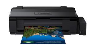 Epson L1300 oraz Epson L1800 - drukarki A3 z systemem stałego zasilania w atrament