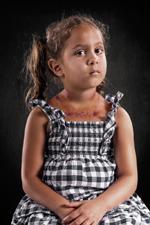 Przemoc psychiczna na zdjęciach Richa Johnsona
