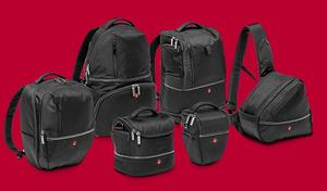 Nowa kolekcja toreb i plecaków na aparaty fotograficzne Manfrotto Advanced Bags Collection