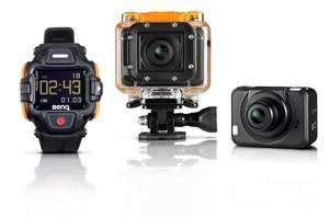 BenQ SP2 - kamera sportowa sterowana zegarkiem i smartfonem