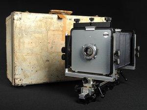 Arca-Swiss 4x5, wielkoformatowy aparat Ansela Adamsa trafi na aukcję