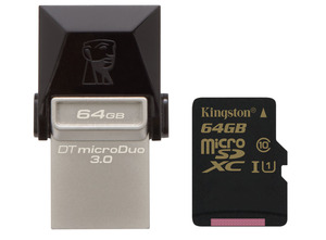 Kingston microSDXC UHS-I klasy 10 - sposób na zwiększenie ilości pamięci w smartfonie lub tablecie