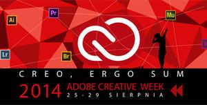 Warsztaty kreatywne Adobe Creative Week - Credo, Ergo Sum - 25-29 sierpnia 2014 w Warszawie