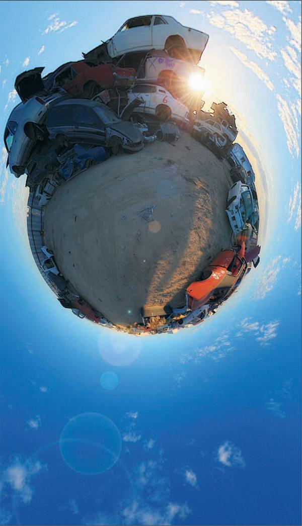 robienie panoramicznych zdjęć HDR panografia photoshop