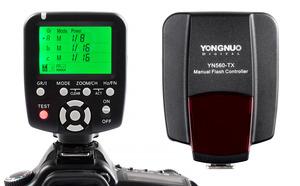 Kontroler lamp błyskowych Yongnuo YN560-TX dedykowany do Canona