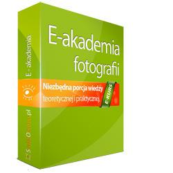 E-akademia fotografii z torbą Kata na laptopa