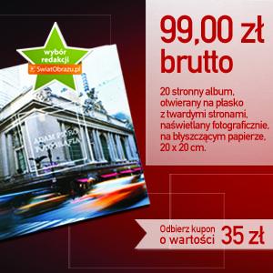 Albumy fotograficzne - kupon rabatowy dla Czytelników SwiatObrazu.pl