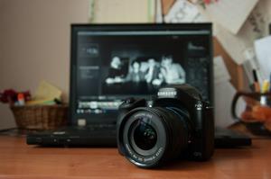 Fotografia rodzinna z Samsungiem NX30: sesja fotograficzna w domu