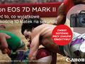 CashBack na lustrzankę Canon EOS 7D Mark II i wybrane obiektywy