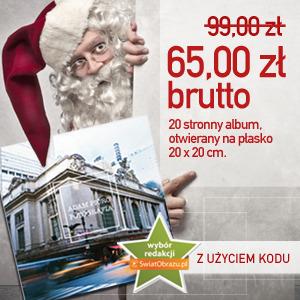 Albumy fotograficzne - świąteczny kupon rabatowy dla Czytelników SwiatObrazu.pl