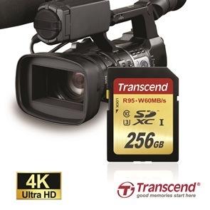 Nowa karta SDXC marki Transcend do nagrywania 4K o pojemności 256GB