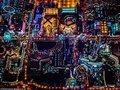 Miasto Grzechu w miniaturze - niezwykłe nocne krajobrazy Vincenta Laforeta