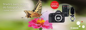 CashBack Canon: EOS 5D Mark III i akcesoria makro