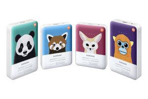 Powerbanki Samsung z wizerunkami zagrożonych gatunków zwierząt